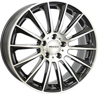 Monaco MC9 Gloss Black & Polished GLOSS BLACK & POLISHED 19""