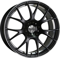 Monaco Mirabeau Black & Polished BLACK 17""