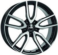 Rial Torino Black & Pol. DIAMOND BLACK & POLISHED 16""