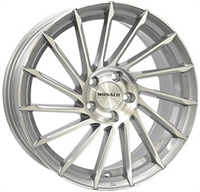 Monaco Turbine Mc Light Gray Pol. LIGHT GRAY POLISHED 18""