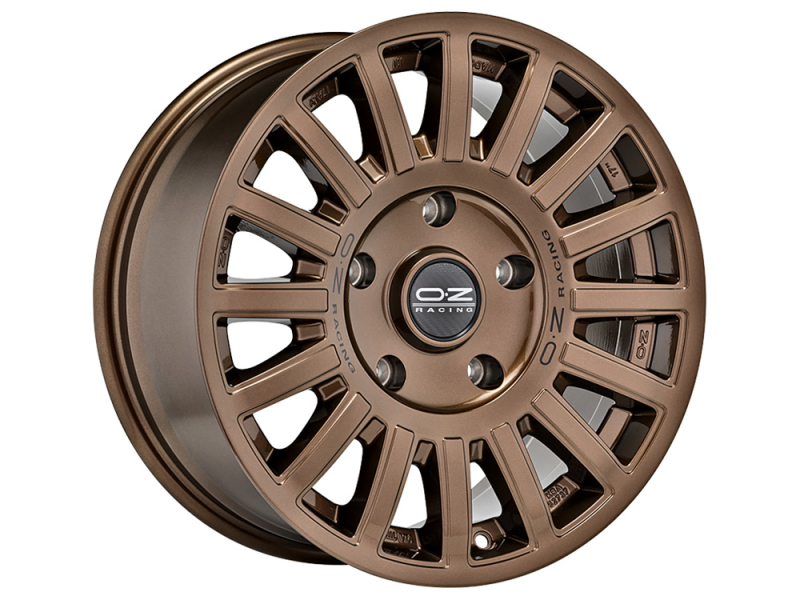 OZ Rally Raid Gloss Bronze GLOSS BRONZE BLACK LETTERING 17""