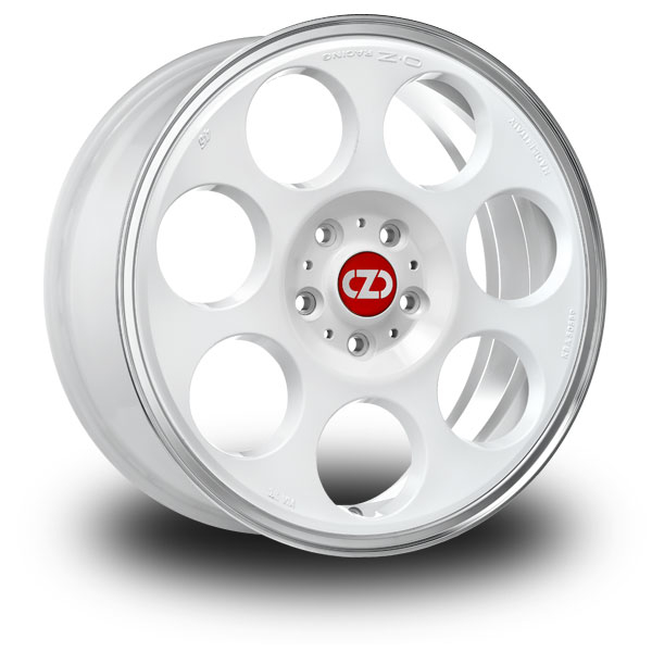 OZ Anniversary 45 White RACE WHITE DIAMOND LIP 17""