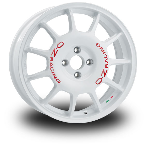 OZ Leggenda WHITE RED LETTERING 17""