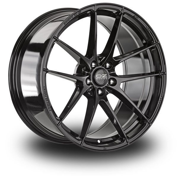 OZ Leggera HLT Black GLOSS BLACK 17""